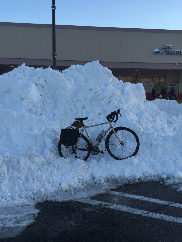 Snowbank Parking. All photos courtesy of Eric Bubar