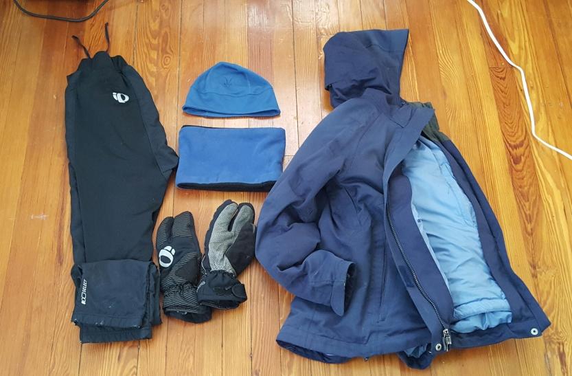 Lisa's winter gear