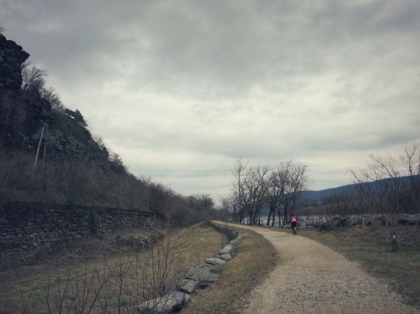 Leaving Harpers Ferry