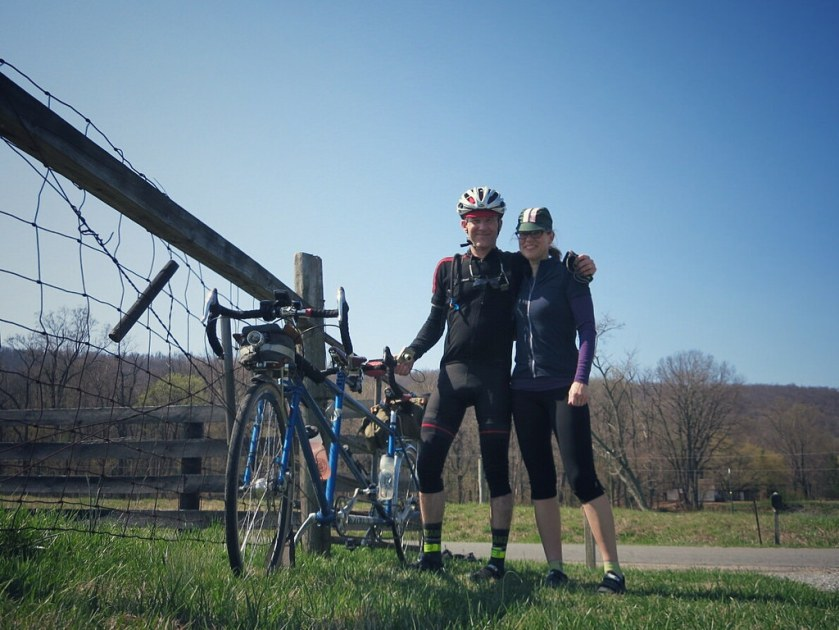 Felkerino and me. Training ride/century