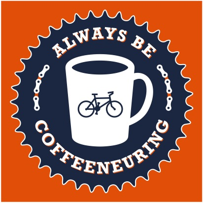 Always Be Coffeeneuring Club, designed by Doug of umbrella works