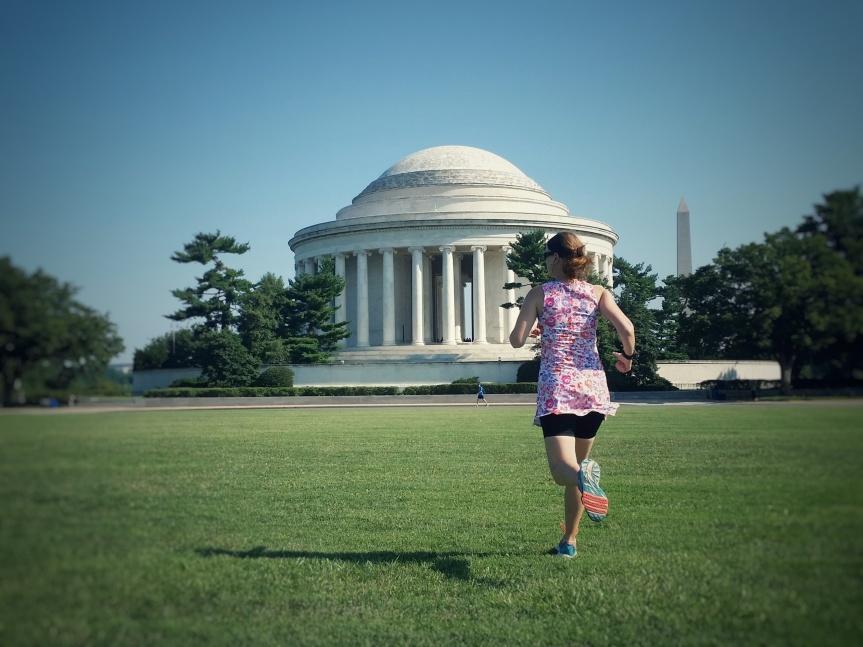 Late July run around the Jefferson