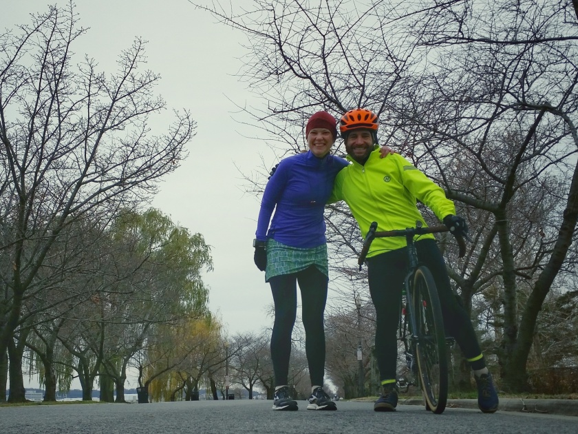 Ian and me on Hains Point