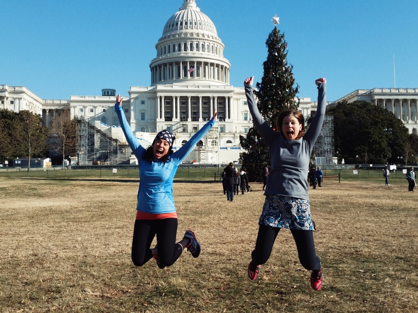 Alex and me by the Capitol Christmas Tree