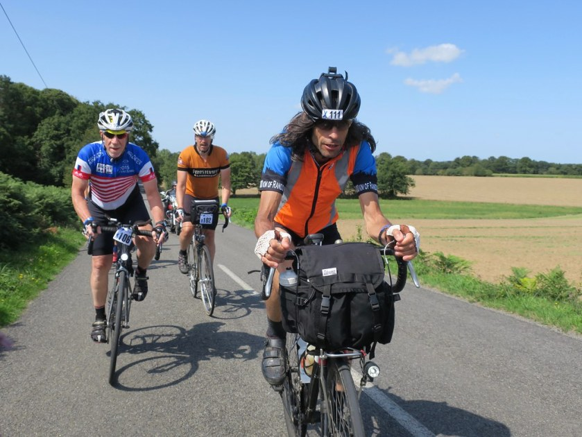 Day 3: Chip, Bill, and Roy en route to Quedillac